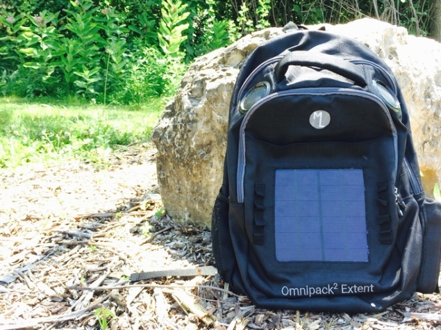 This Backpack Packs in a Battery, Lights, and Speakers