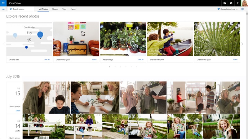 OneDrive Gets Pokemon Detector, Automatic Albums, and More
