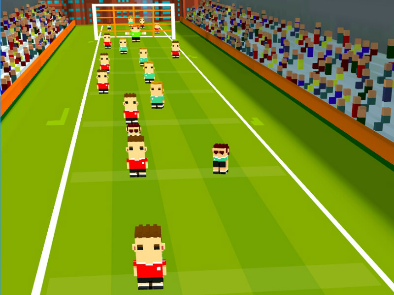 One More Pass Is Where Football Meets Crossy Road