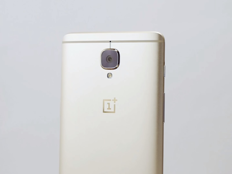 OnePlus 3 Soft Gold Colour Variant Officially Launched