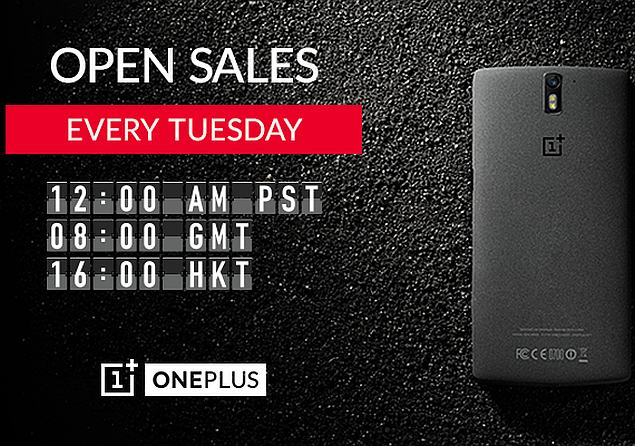 OnePlus One to Be Available Without Invites Globally Every Tuesday