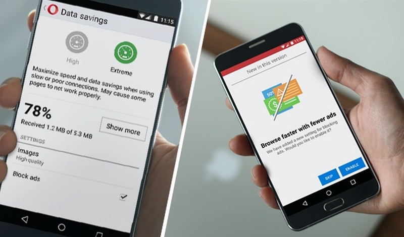Opera's Integrated Ad-Blocker Now Available for Android and Desktop