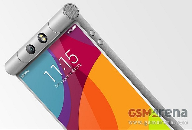 Oppo N3 Spotted in Purported Images With Novel Cylindrical Swivel Camera