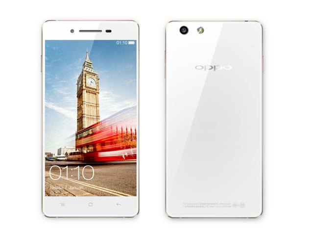 Oppo R1 with 5-megapixel front-facing camera launched at Rs. 26,990