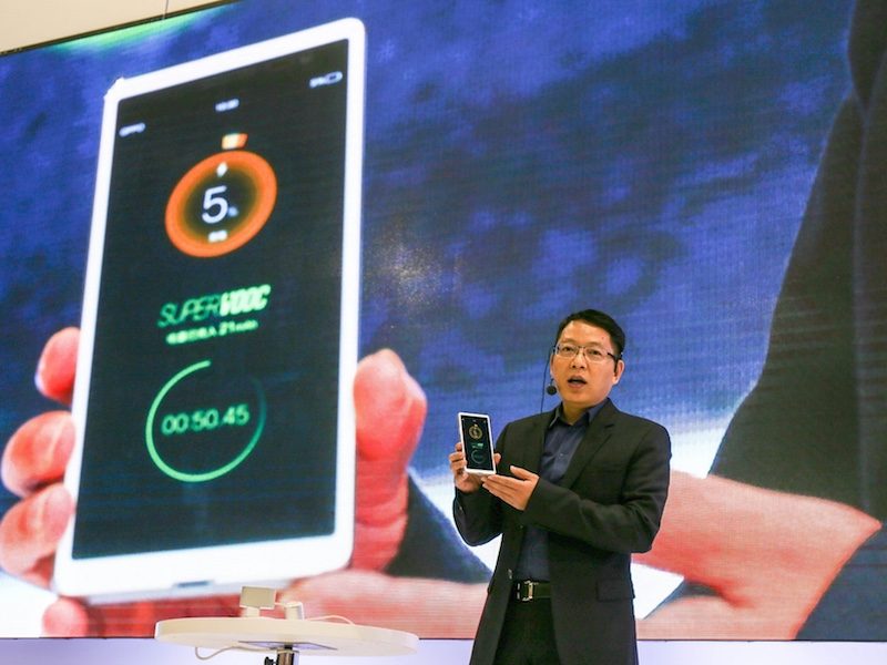 Oppo's New Super VOOC Battery Tech Can Fully Charge a Phone in 15 Minutes