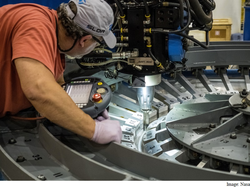 Nasa Assembles First Pieces for Orion Deep Space Mission