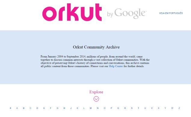 Orkut Shut Down; Users Now Redirected to Google Home Page