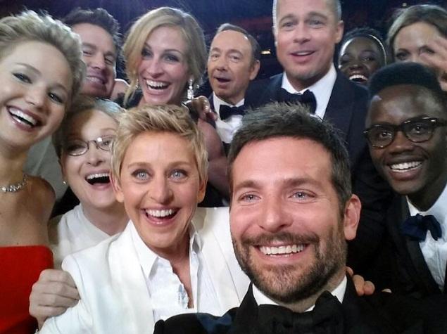 Ellen DeGeneres' Oscar celeb selfie a landmark media moment