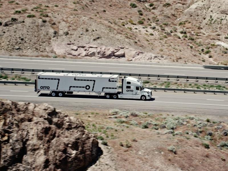 Ex-Googlers Rev Up Plan for Self-Driving Trucks
