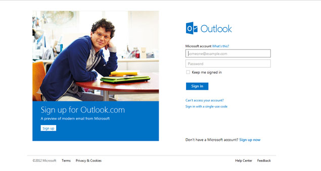 Microsoft revamps Hotmail as social-friendly Outlook