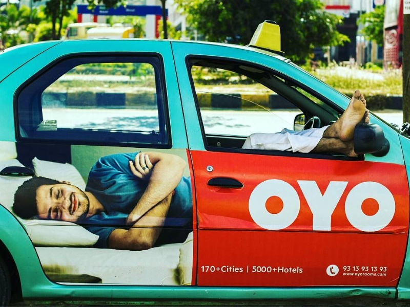 Singapore-Based Ride-Hailing Firm Grab Said to Have Invested $100 Million in Oyo