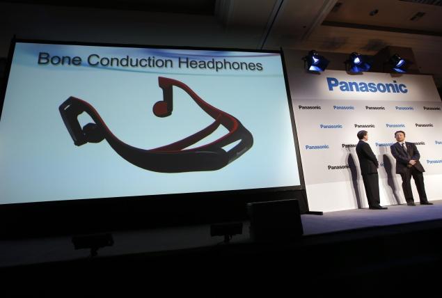 Panasonic unveils bone-conduction TV headphones