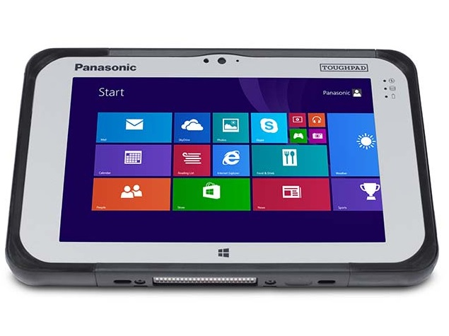 Panasonic Toughpad Fz M1 Rugged Tablet With Windows 8 1 Pro