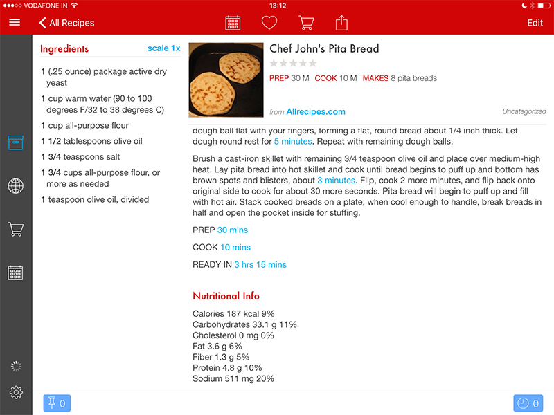 Best food apps for iphone ipad and android devices recipes and paprikaappg forumfinder Images