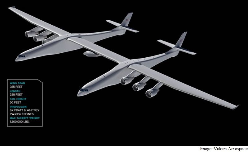 Paul Allen's Space Company Nears Debut of World's Biggest Plane