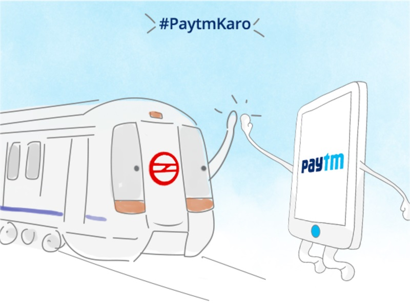 Now, Recharge Your Delhi Metro Card With Paytm