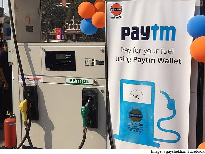 Pay for Petrol With Paytm at Indian Oil Pumps