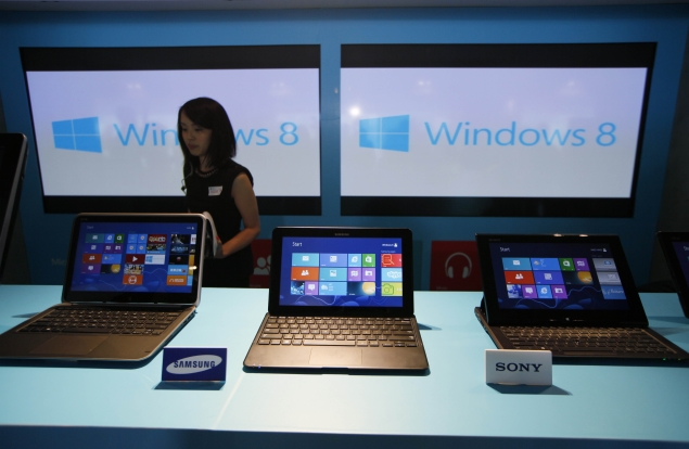 PC quarterly sales down 14 percent, sharpest drop on record