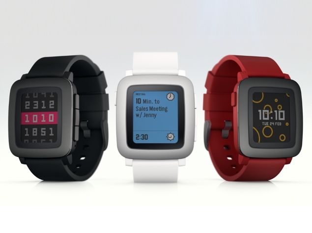 Pebble Time Smartwatch With Colour E-Paper Display Launched via Kickstarter