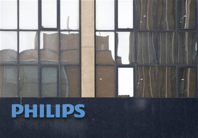 Philips posts three-fold jump in profits