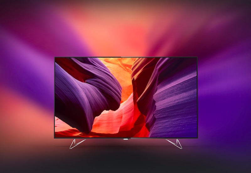 Philips AmbiLux 65-Inch 4K TV With Built-In Projector Launched at IFA