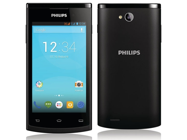 Philips S308 and W3500 Dual-SIM Android Smartphones Launched
