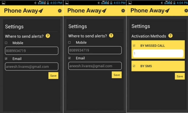 Phone Away app lets you access your Android phone remotely