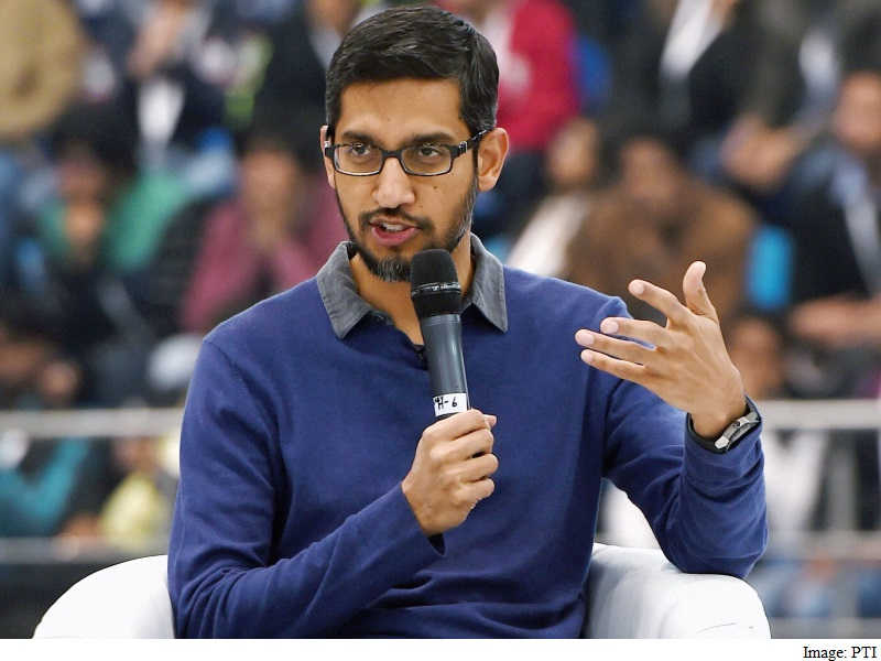 Google CEO Sundar Pichai Paid $100.5 Million for First Year at Helm