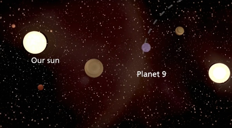 'Planet 9' Said to Be First Exoplanet in Our Solar System