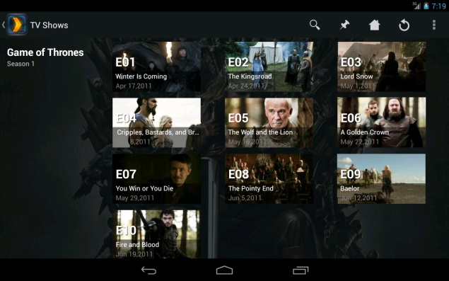 Plex updates Android and iOS apps with Chromecast support, other new