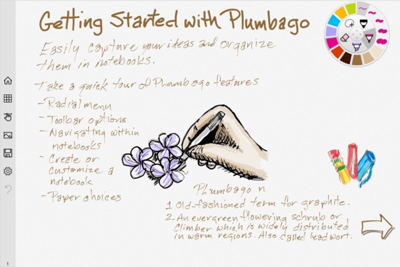 Microsoft's Plumbago Digital Notebook App Aim to Retire Pen and Paper
