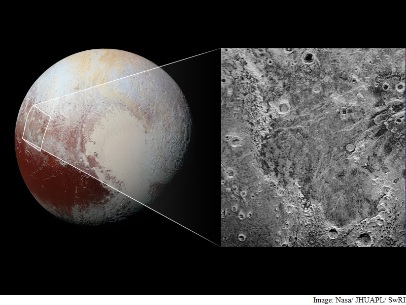 Giant 'Bite Mark' Appears on Pluto's Surface