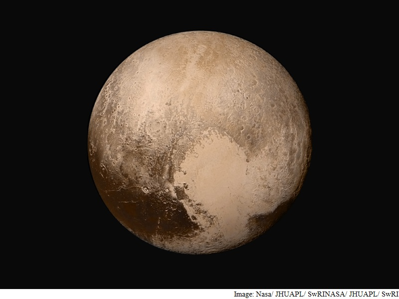 Pluto's Unique Interaction With Solar Wind Spotted: Study