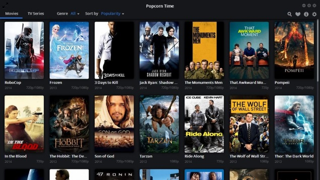 Popcorn Time Torrent Streaming App Gets AirPlay Support