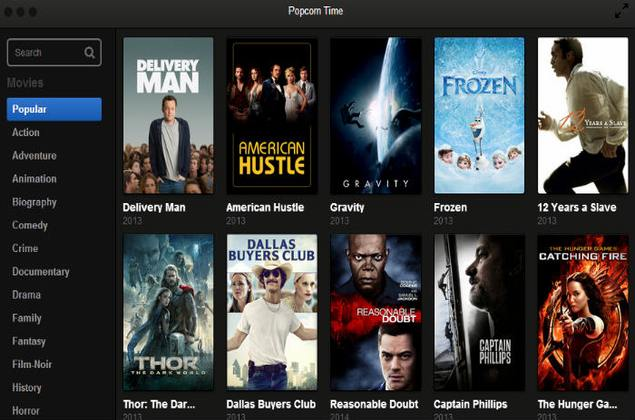 Netflix Of Torrents Popcorn Time App Now Available For Android