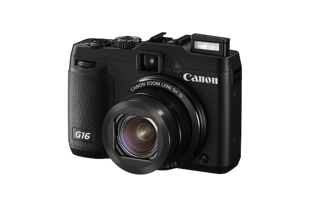 Canon PowerShot G16 with 12.1-megapixel CMOS sensor launched at Rs. 34,995
