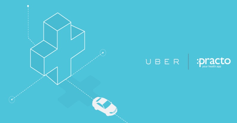 Uber, Practo Partner for Healthcare Bookings