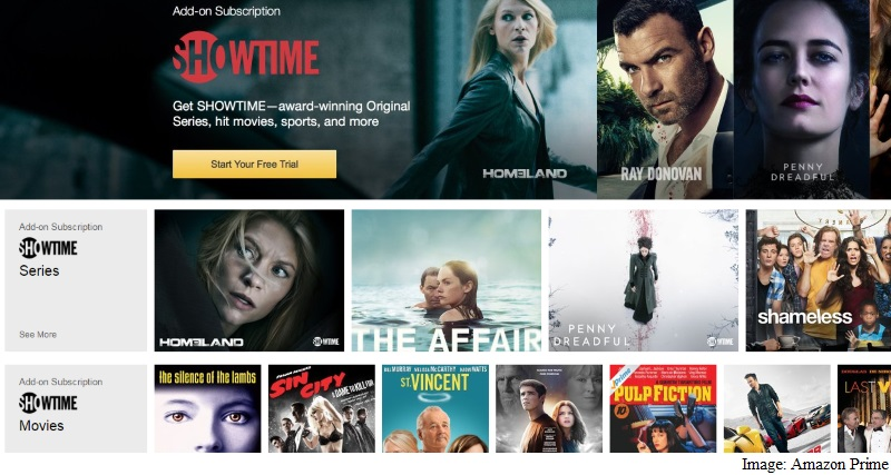 Amazon Adds Showtime and 'Streaming Partners'