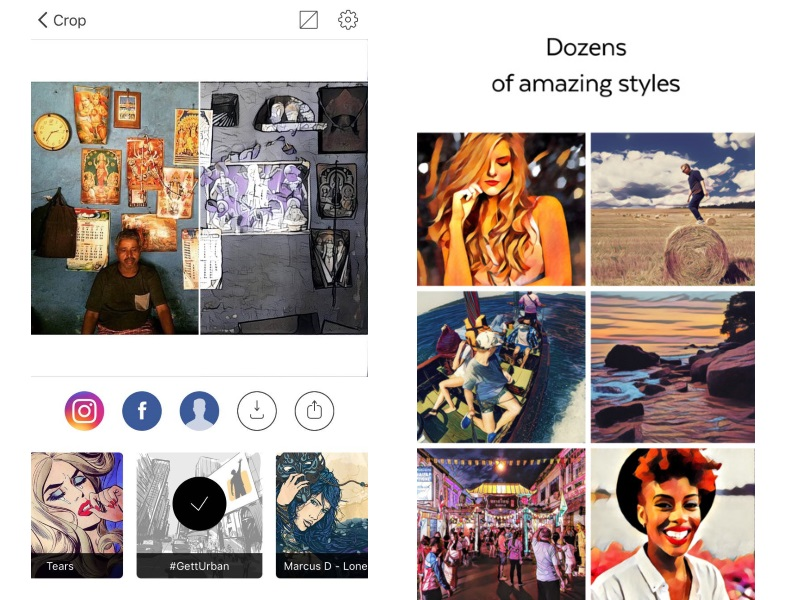 Prisma Update Improves Processing Speed, Adds Crop Function, and More