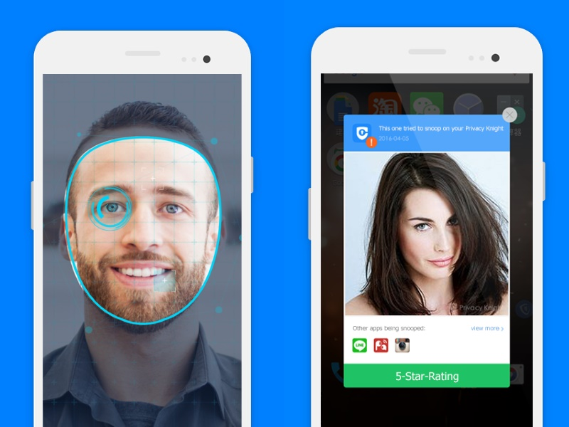 Alibaba Launches 'Privacy Knight' Face Lock App for Android