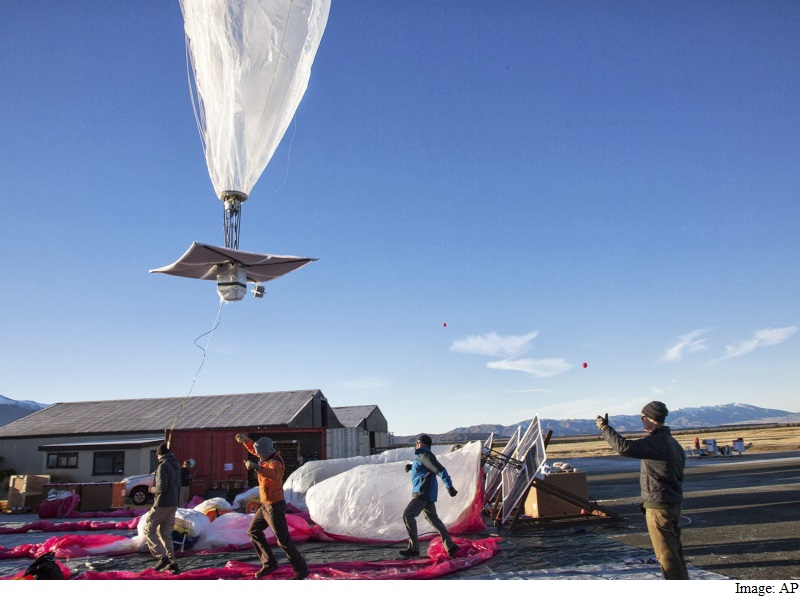 Google's Project Loon Will Interfere With Cellular Transmissions, Says Telecom Minister