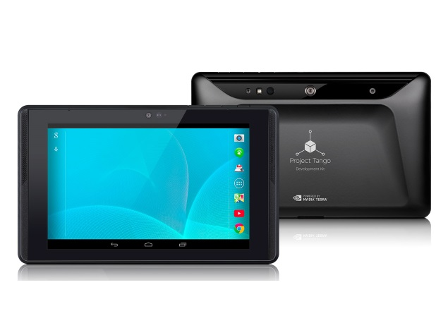 Google Unveils Project Tango Tablet Developer Kit With Tegra K1 at $1,024