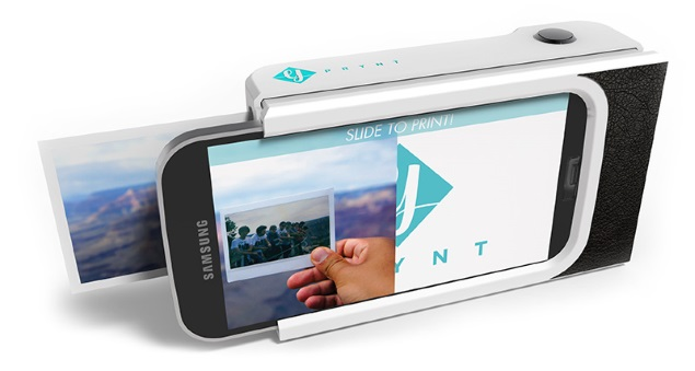New Smartphone Case Can Print Your Selfie in Seconds