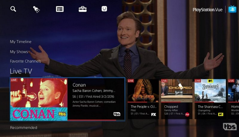 Sony PlayStation Vue Online TV Service Launched Nationwide in the US