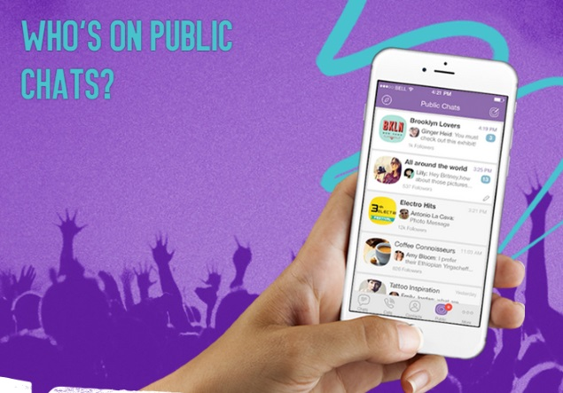 Viber Launches Public Chats, a 'New Way to Get Behind the Scenes'