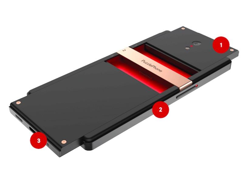 PuzzlePhone Modular Smartphone Goes Live on Indiegogo Next Month