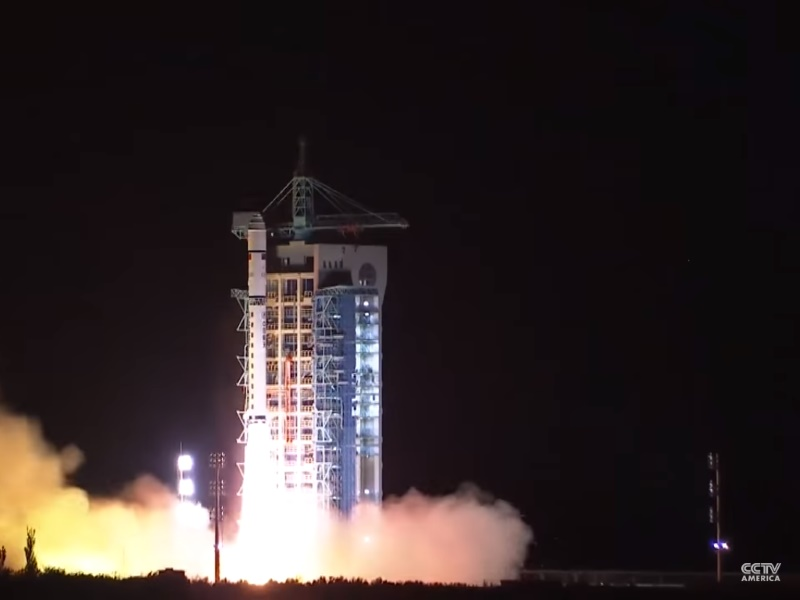 China's Launch of First Quantum Satellite Major Step in Space Race