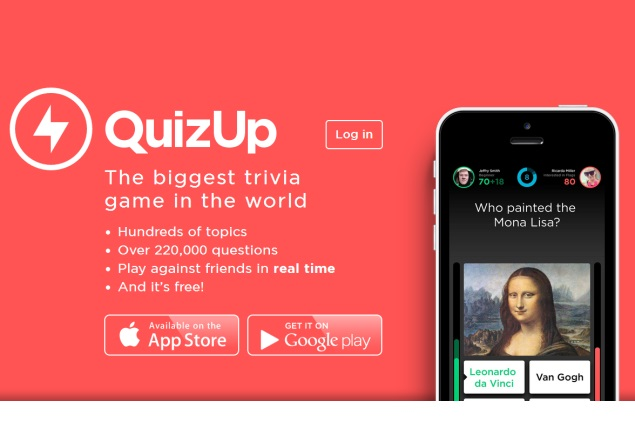 QuizUp trivia app for Android now available for download via Play Store