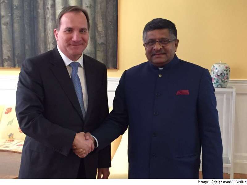 Prasad Meets Swedish Prime Minister, Discusses Cyber-Security Cooperation