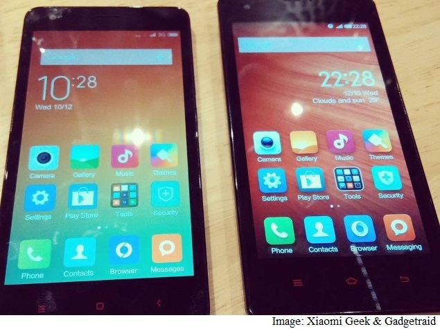 Alleged Xiaomi Redmi 1S Successor Compared With Original in Leaked Images